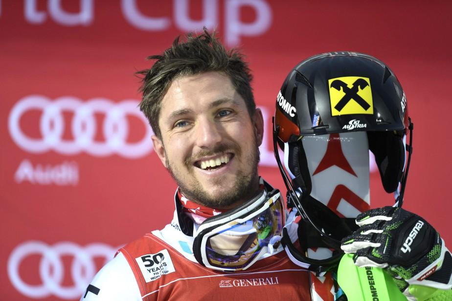 Marcel Hirscher... (Photo Reuters)