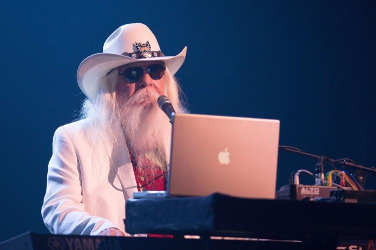 Leon Russell au Festival de Jazz de Montréal,... (ARCHIVES AFP)