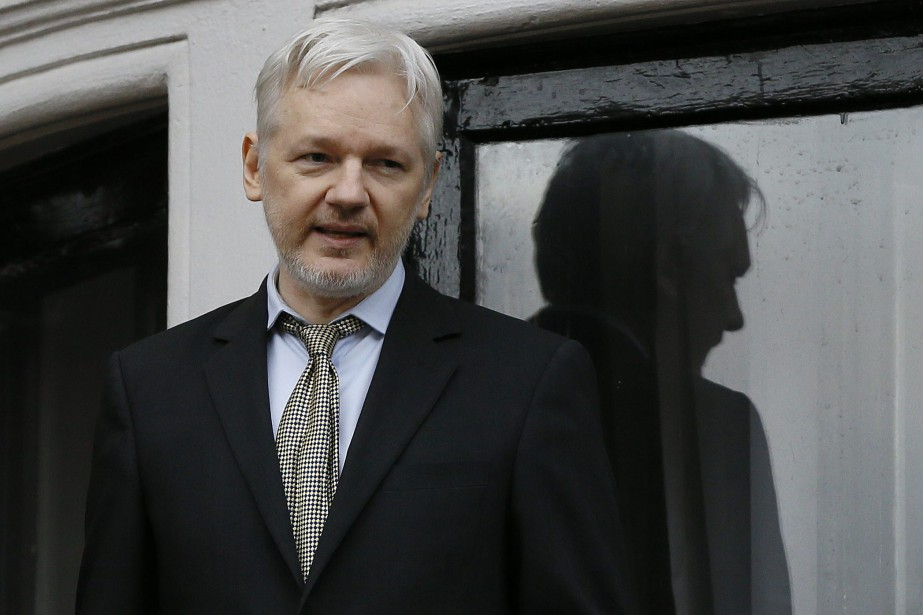 Julian Assange... (PHOTO KIRSTY WIGGLESWORTH, ARCHIVES ASSOCIATED PRESS)