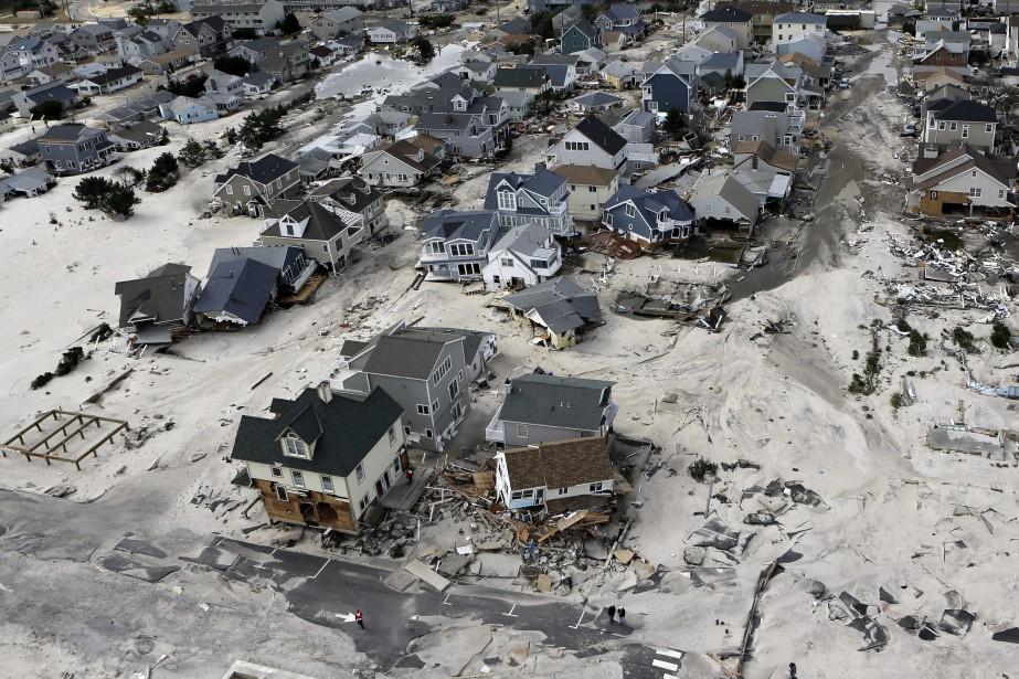 L'ouragan Sandy en 2012.... (Photo Mike Groll, archives AP)