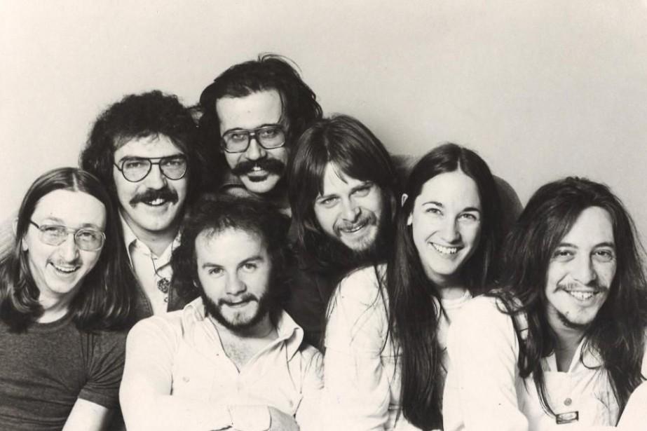 Le groupe Harmonium en 1977.... (Photo archives CBS)
