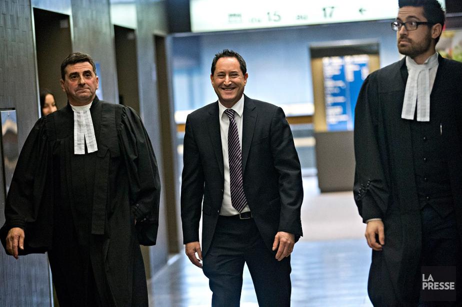 L'ancien maire de Montréal, Michael Applebaum,est jugé sous... (Patrick Sanfaçon, La Presse)