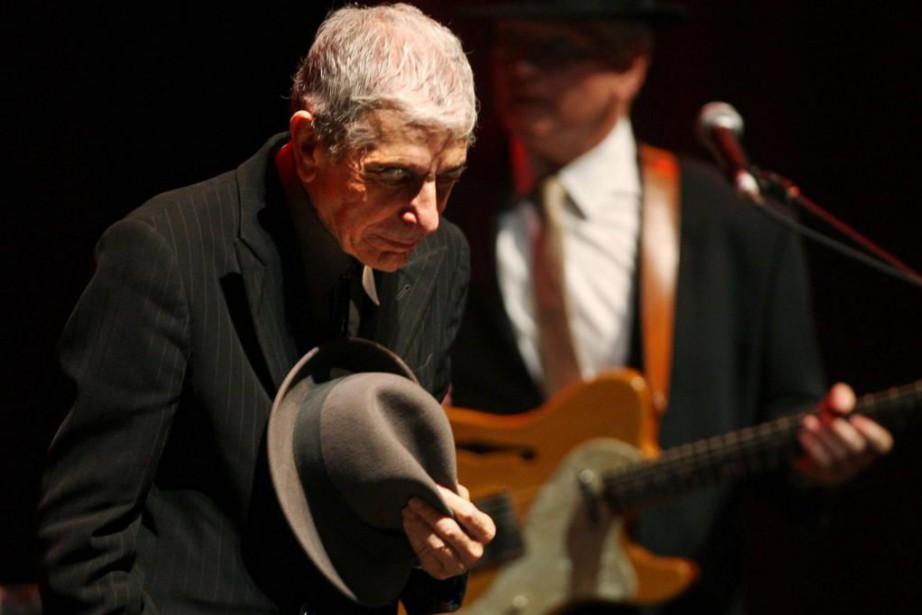 À travers le regard de Leonard Cohen, Montréal... (Photo Martin Chamberland, archives La Presse)