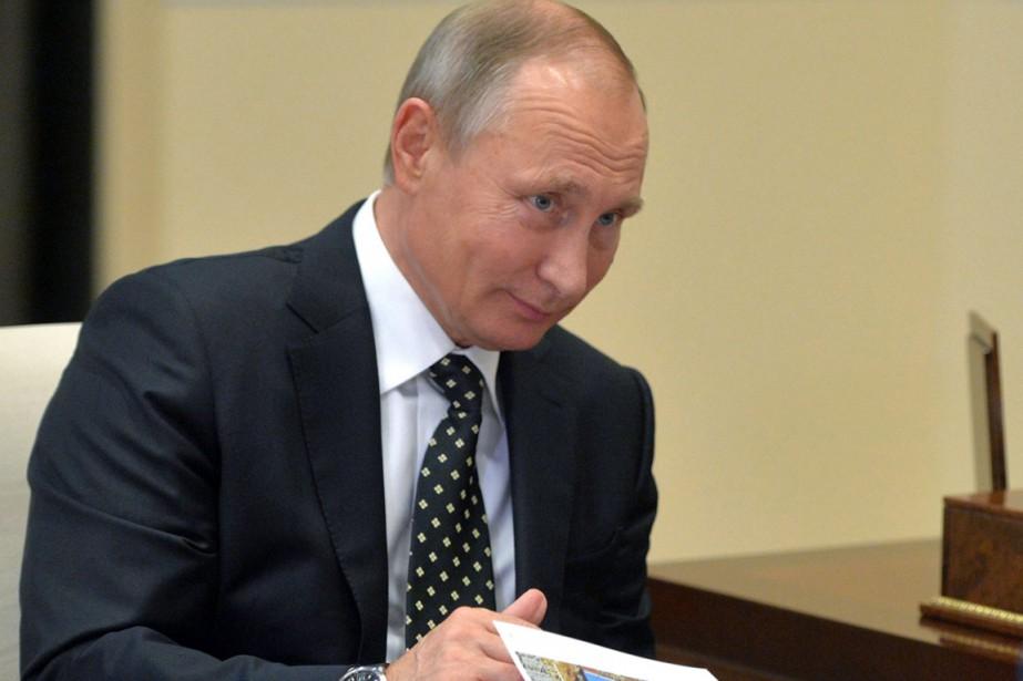 Lors d'un entretien téléphonique décidé d'un «commun accord»,... (photo Alexei Druzhinin, sputnik/AP)