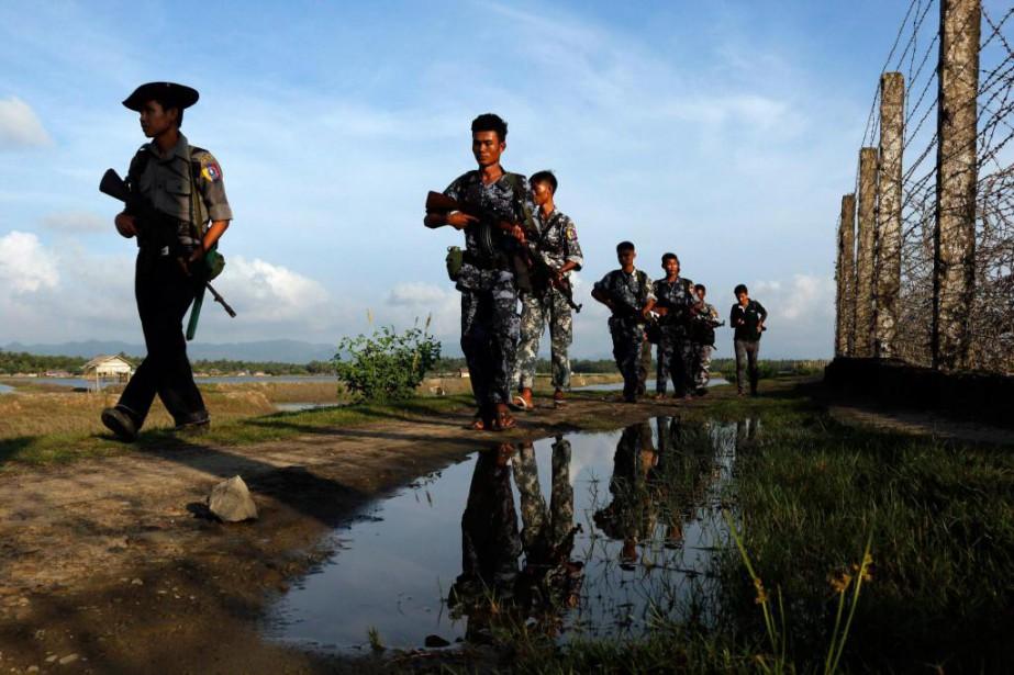 Les militaires, même s'ils ont été battus dans... (photo thein zaw, archives associated press)