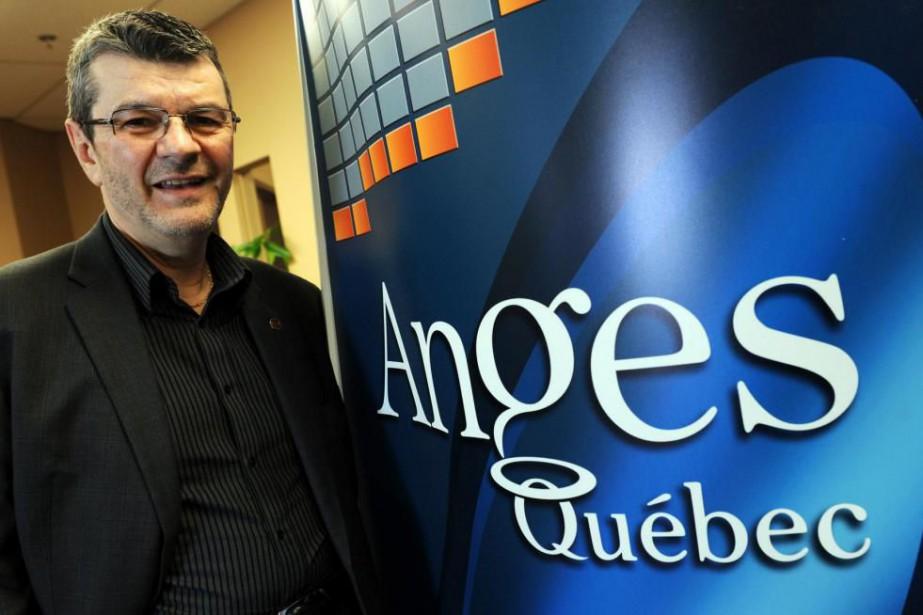 François Gilbert, PDG d'Anges Québec... (PhotoErick Labbé, Archives Le Soleil)
