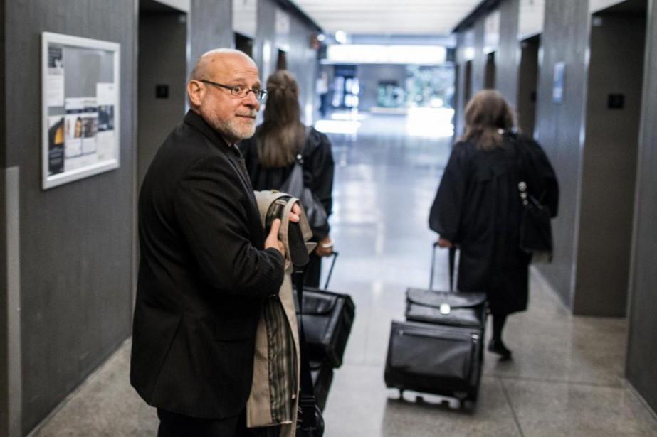 Jean-Pierre Desmarais, avocat de la Fondation Fer de... (Photo Olivier PontBriand, Archives La Presse)