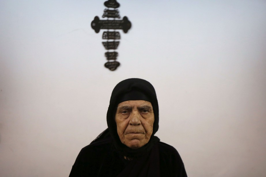 Zarifa Bakoos Daddo, 77ans.... (Photo Safin Hamed, Agence France-Presse)