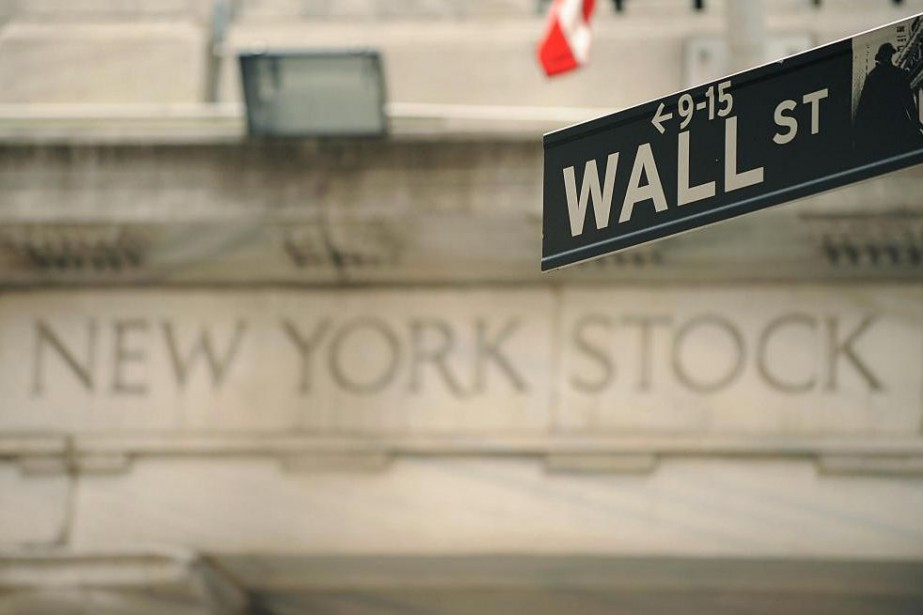 Wall Street a marqué le pas... (Photo Stan HONDA, Archives Agence France-Presse)