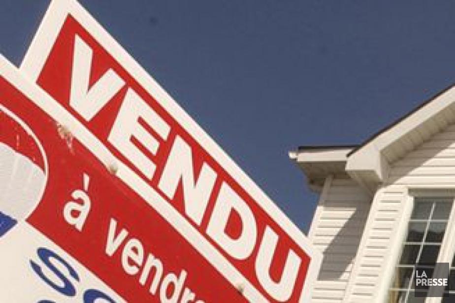 Le nombre d'habitations vendues le... (Photo Alain Roberge, Archives La Presse)