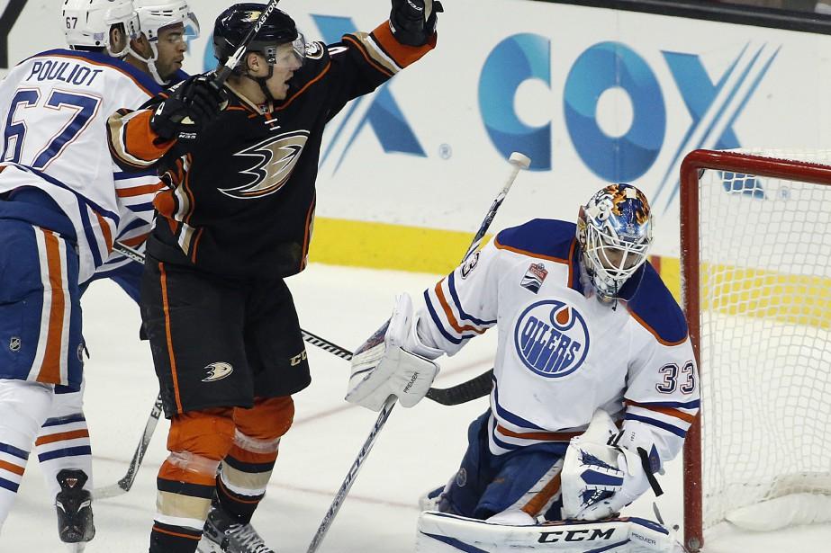 Les Oilers d'Edmonton se sont inclinés 4-1 face... (Photo Alex Gallardo, AP)