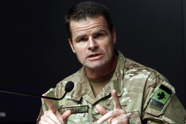 Le major général Michael Rouleau a expliqué que... (PHOTO PC)