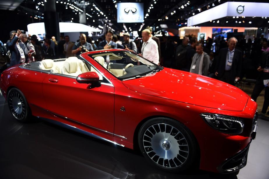 La Mercedes-Maybach S 650 Cabriolet. (AFP)