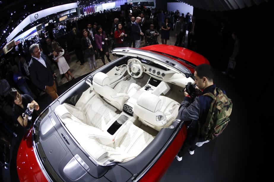 La Mercedes-Maybach S 650 Cabriolet. (AP)
