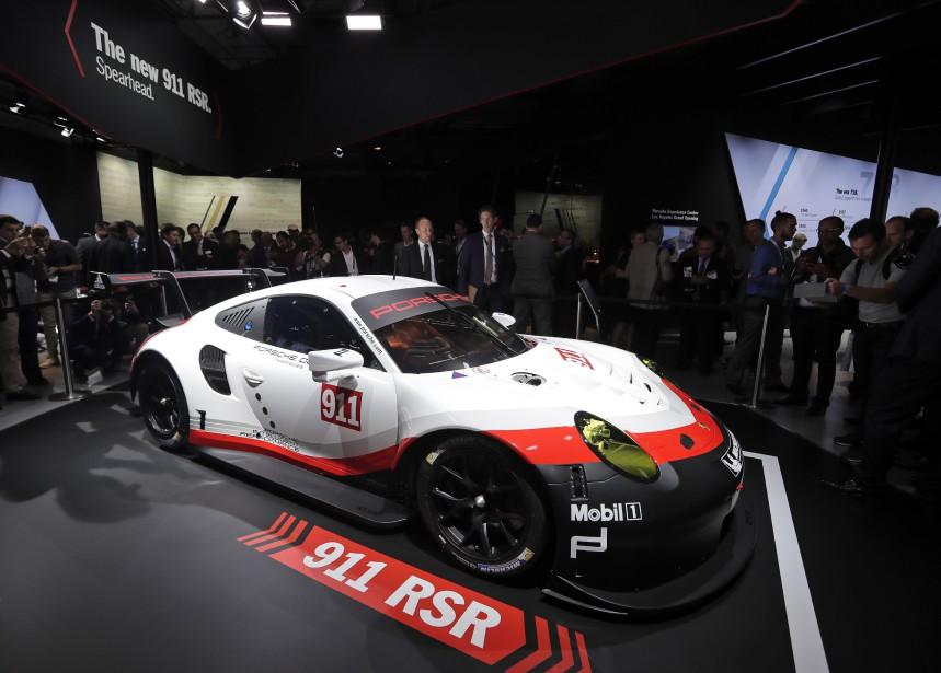 La Porsche 911 RSR. (AP)