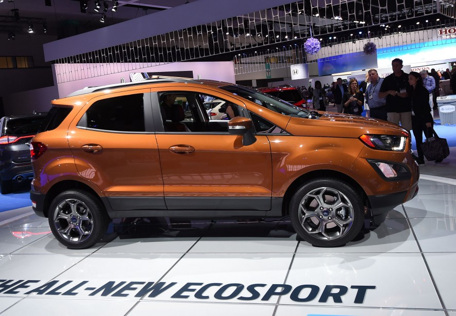 Le Ford Ecosport 2017. (AFP)