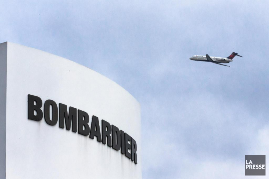 Bombardier a confirmé hier l'émission de 1,4 milliard... (Photo Olivier PontBriand, Archives La Presse)