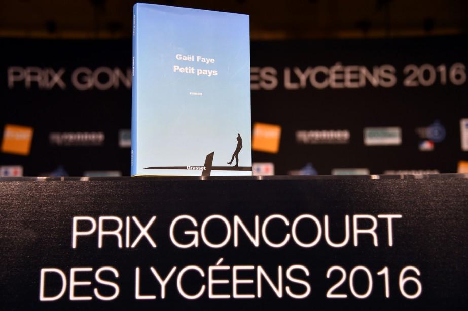Le Goncourt des lycéens, prix littéraire français decerné par un... (PHOTO AFP)