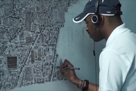 Cet artiste londonien hors normes se situe à l'exact opposé... (CAPTURE D'ÉCRAN)