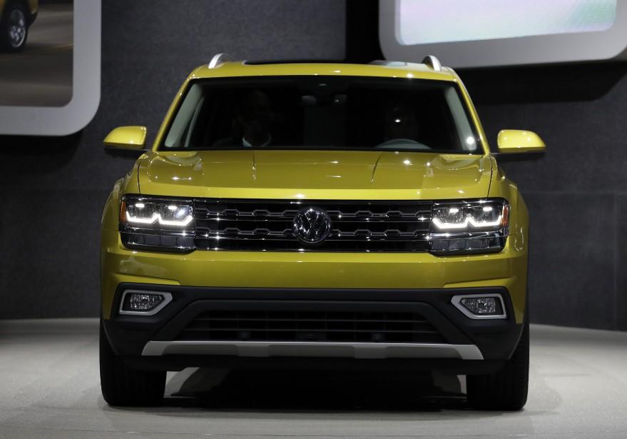 Le nouveau VUS à sept places Volkswagen Atlas. (AP)