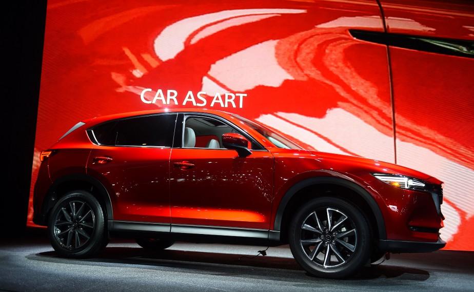 Le Mazda CX-5 2017. (AFP)