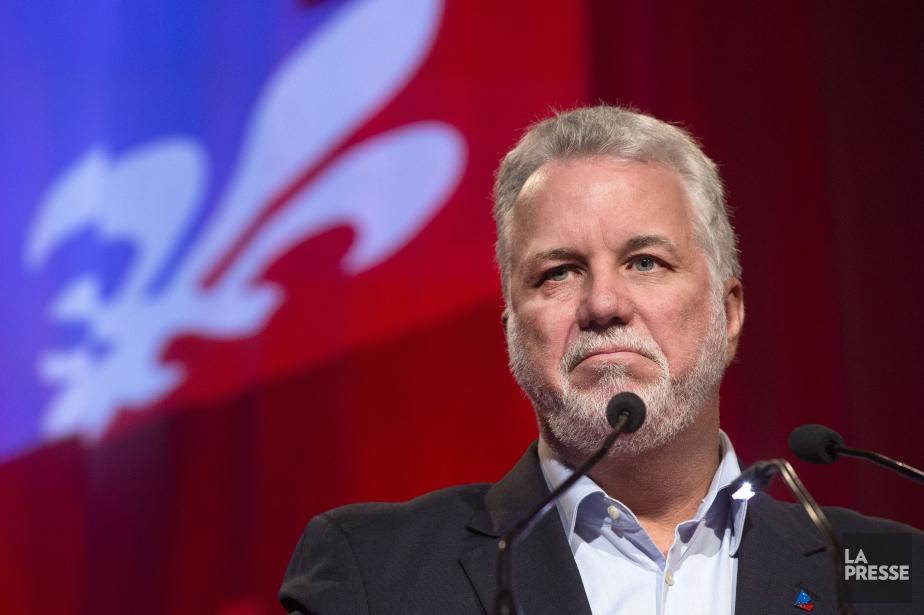 Le premier ministre du Québec, Philippe Couillard... (PHOTO ROBERT SKINNER, ARCHIVES LA PRESSE)