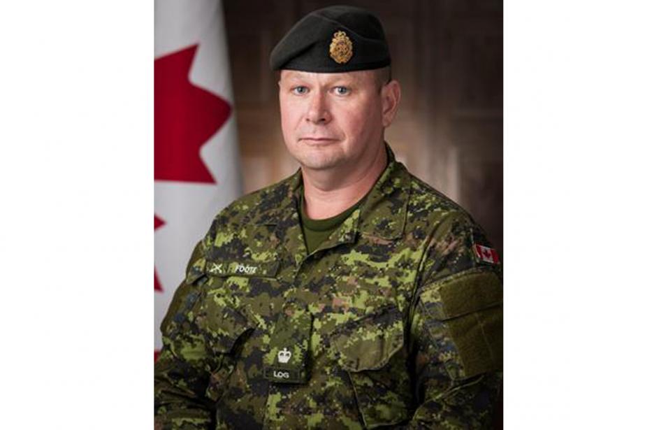 Le major Scott Foote... (PHOTO FOURNIE PAR LA Défense nationale)