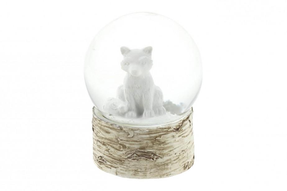 Boule de neige renard blanc (9,99$) chez Renaud-Bray (Fournie par Renaud-Bray)