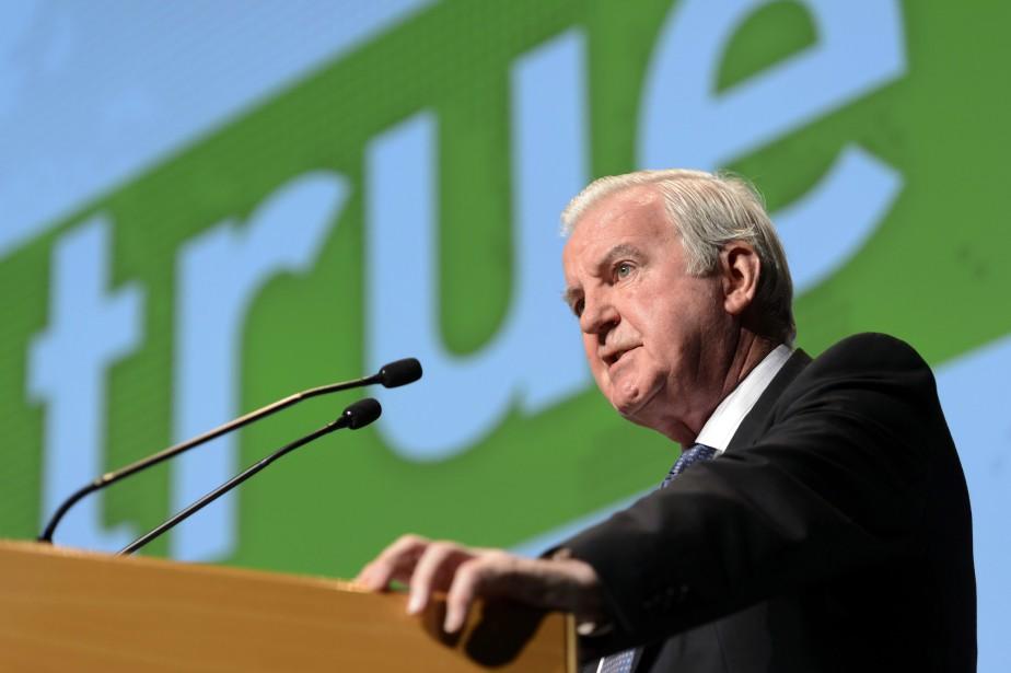 Le président de l'Agence mondiale antidopage (AMA),Craig Reedie.... (Photo Laurent Gillieron, archives AP)