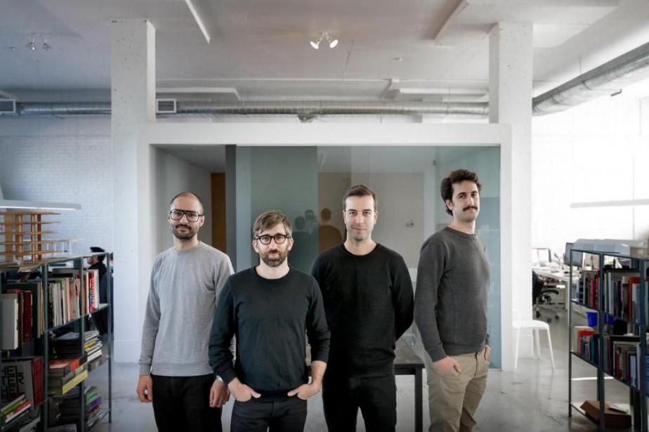 Le tandem d'architectes Hubert Pelletier et Yves de... (PHOTO MARCO CAMPANOZZI, LA PRESSE)