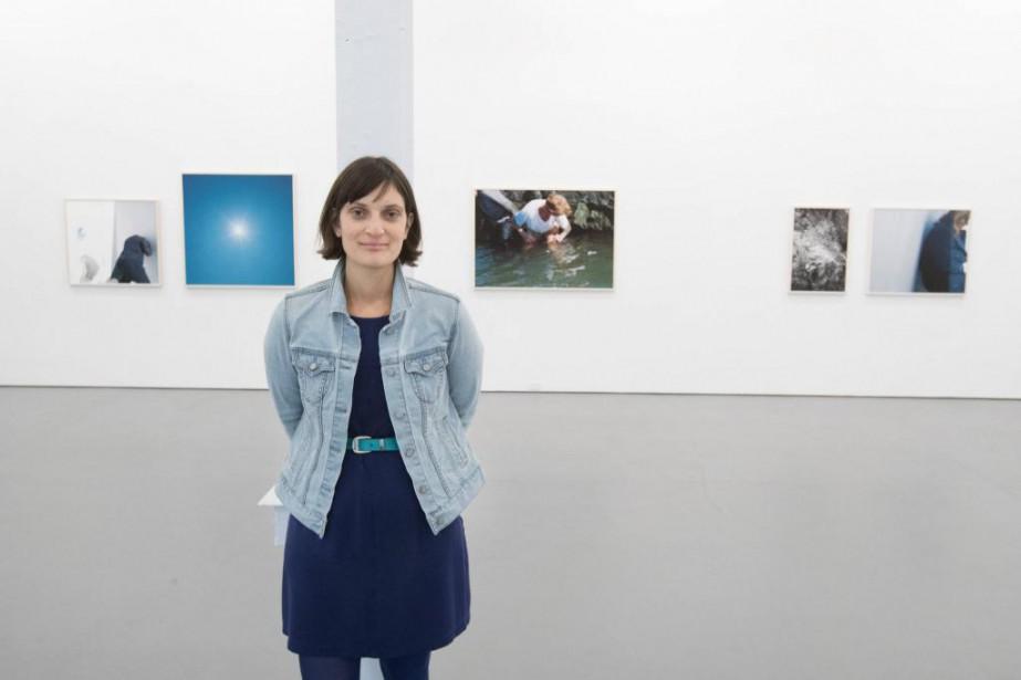 L'artiste de Québec Jacynthe Carrier présente son dernier... (Photo Ivanoh Demers, La Presse)