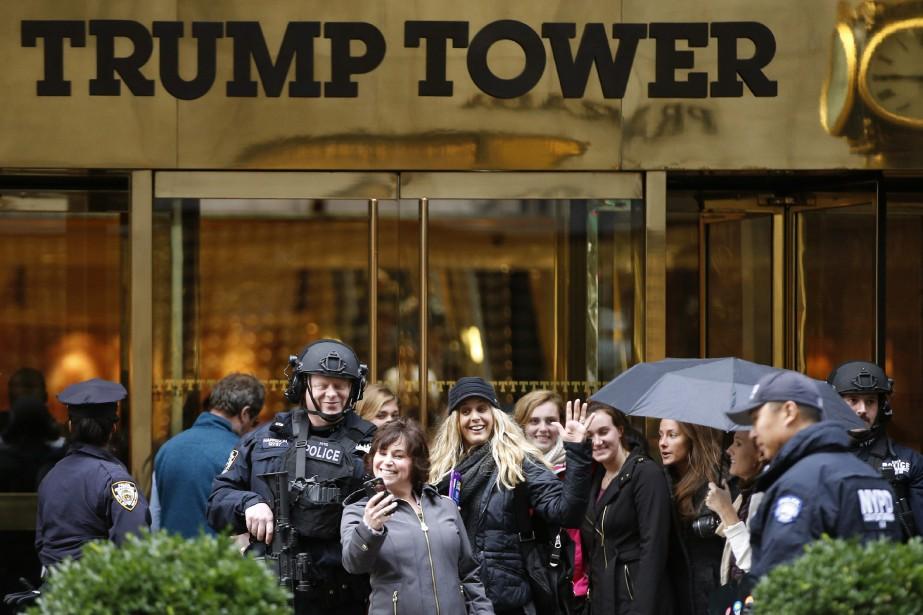 Et si Donald Trump décidait de ne pas s'installer à Washington et... (Photo AP)