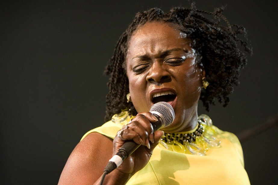 Sharon Jones en 2010... (Photo Jay Janner, archives AP/Austin American-Statesman)