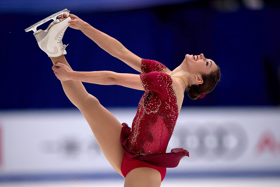 Kaetlyn Osmond... (PHOTO NICOLAS ASFOURI, AFP)