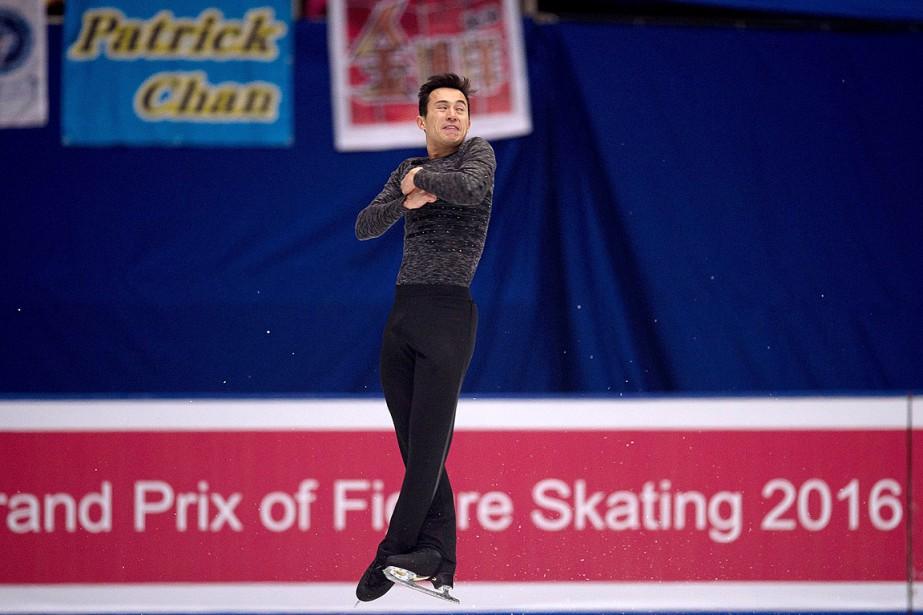 Patrick Chan... (PHOTO NICOLAS ASFOURI, AFP)