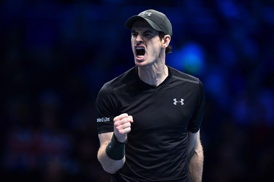 Andy Murray a enregistré sa sixième victoire de... (PHOTO GLYN KIRK, AFP)