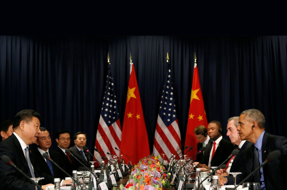 Le président chinois a rencontré Barack Obama à... (Photo Reuters)