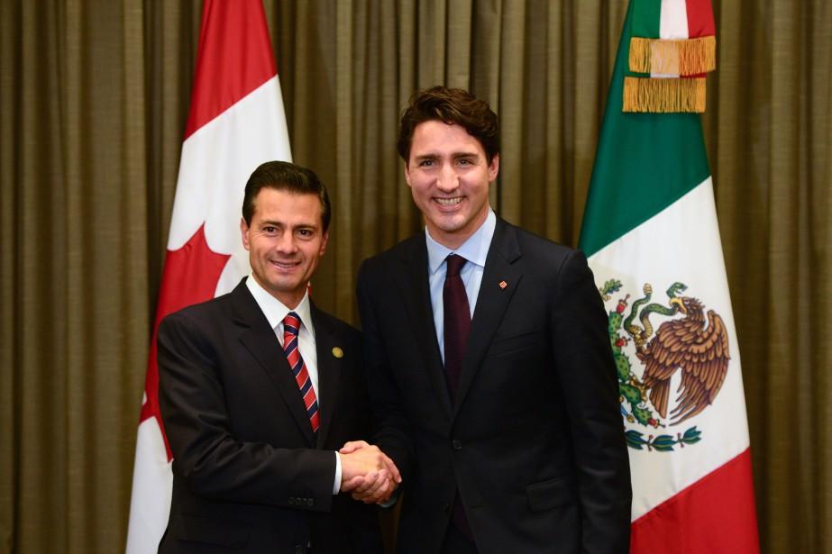 Justin Trudeau a, entre autres, rencontré le président... (Archives La Presse canadienne, Sean Kilpatrick)
