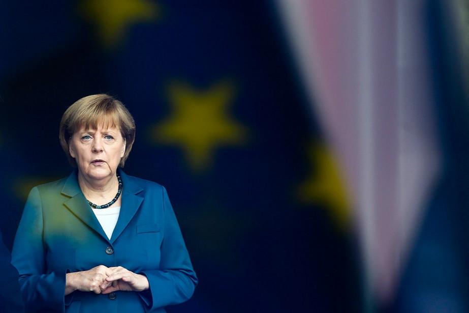 Angela Merkelest au pouvoir depuis 2005 en Allemagne.... (Photo Markus Schreiber, archives AP)
