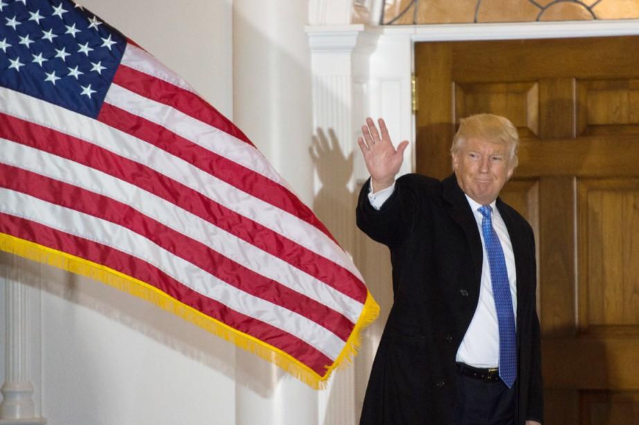 Une visite d'État au Royaume-Uni de Donald Trump... (photo DON EMMERT, AFP)