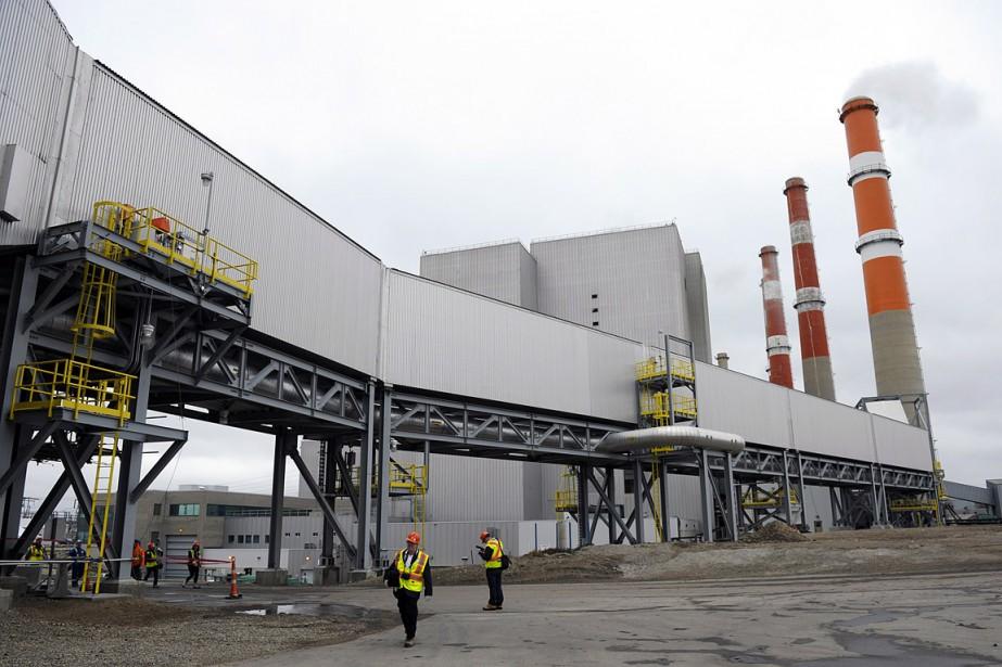 La centrale thermique au charbon Boundary Dam, enSaskatchewan,... (Michael Bell, archives PC)