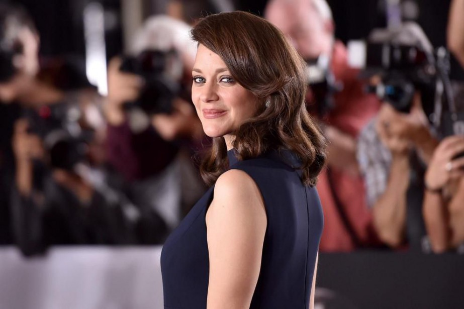 Marion Cotillard a confié à La Presse que le... (Photo Jordan Strauss, Associated Press)