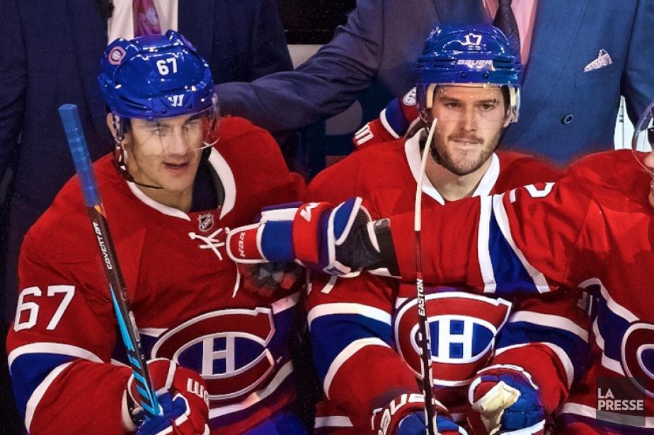 Max Pacioretty (à gauche) pourrait hériter d'un cinquième... (Photo André Pichette, La Presse)
