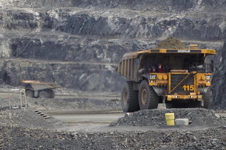 Les compagnies minières québécoises évoluent toujours dans un... (Photo Ivanoh Demers, Archives La Presse)