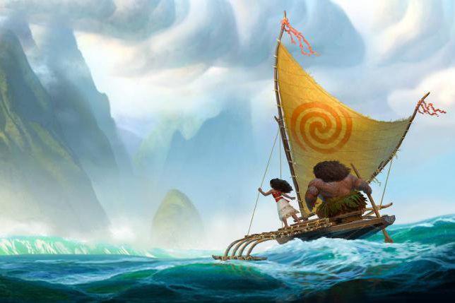 Le 56elong métrage d'animation de Disney, Moana, est... (Image fournie par Disney)
