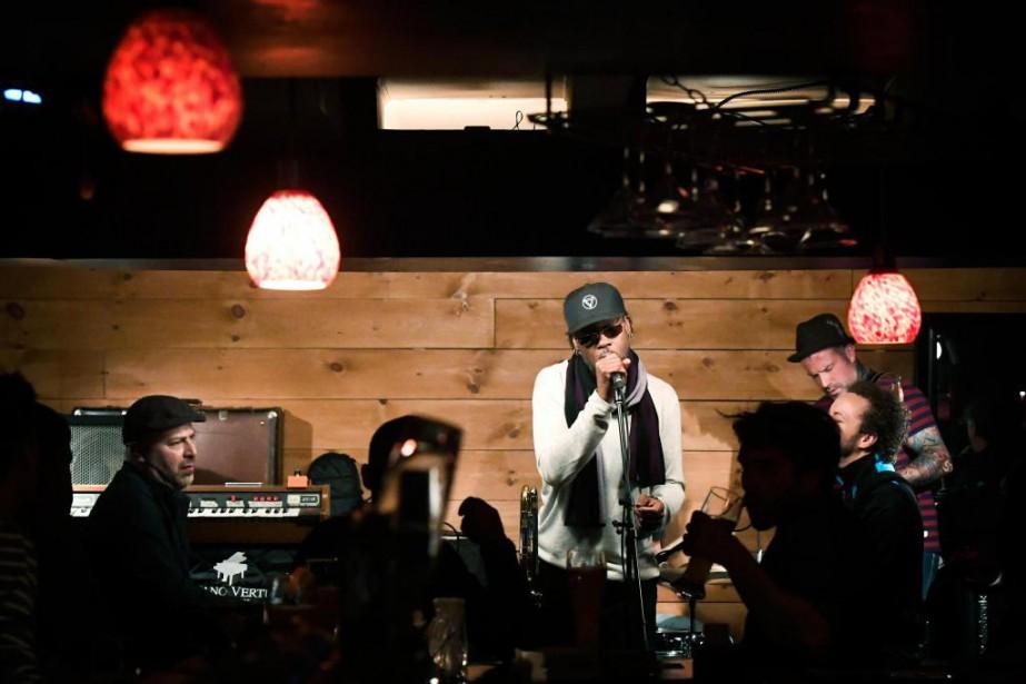 The Brooks est en concert tous les mercredis... (Photo Bernard Brault, La Presse)