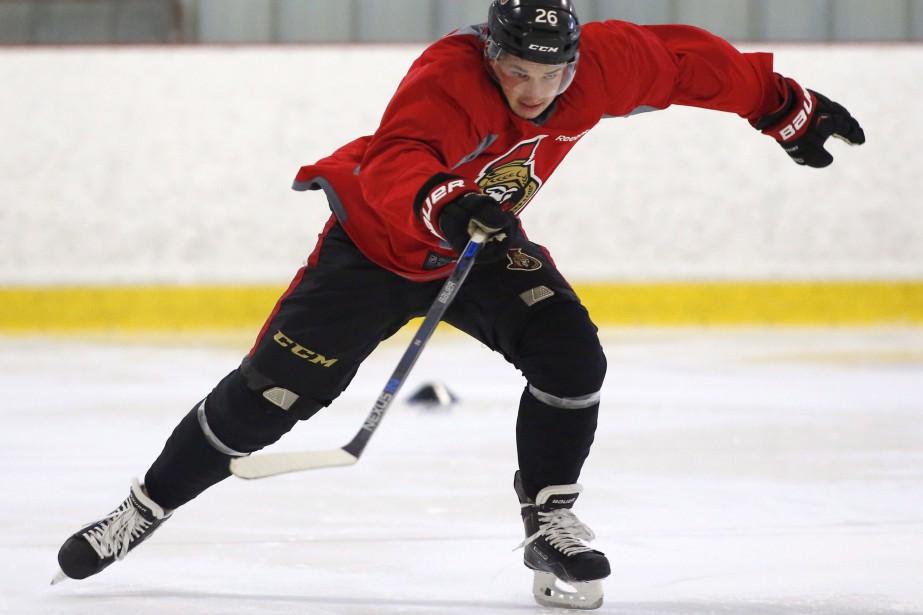 Matt Puempel.... (THE CANADIAN PRESS)
