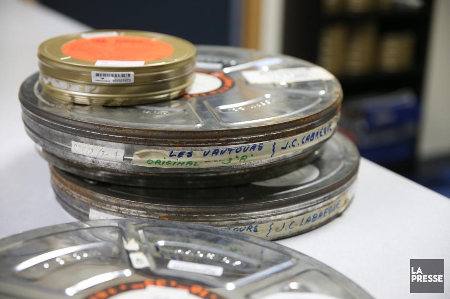 Le niveau de production de longs métrages au... (Photo Martin Chamberland, archives La Presse)