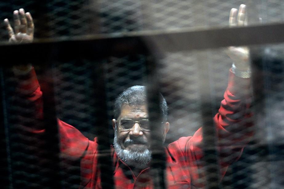 Mohamed Morsi, photographié en juin 2015.... (Ahmed Omar, archives AP)