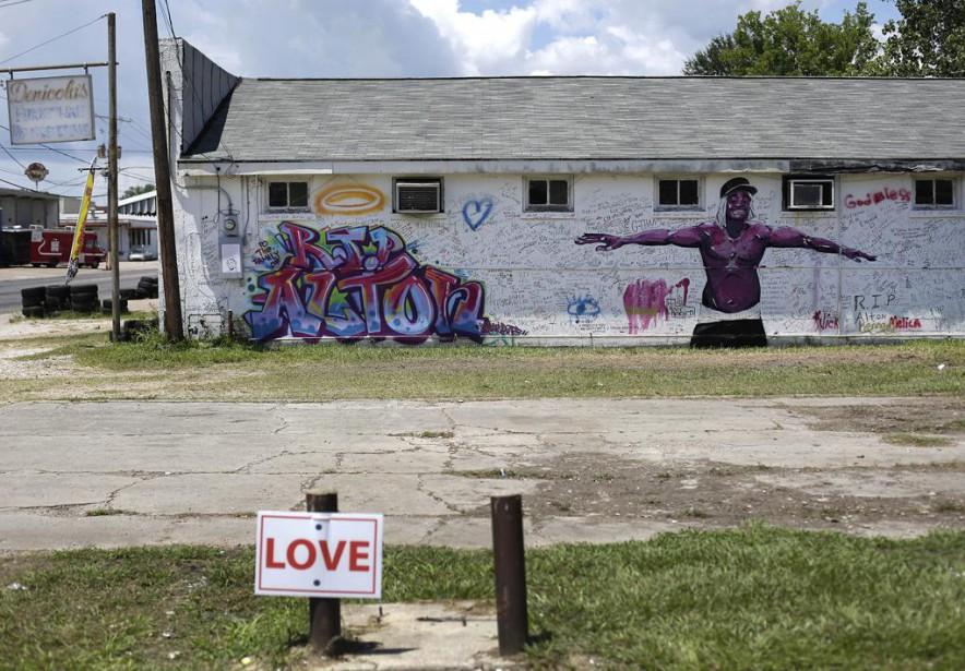 «La Louisiane a voté massivement pour Trump», écrit... (PHOTO JOSHUA LOTT, ARCHIVES AGENCE FRANCE-PRESSE)